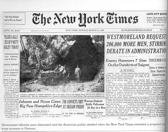 1968 front page